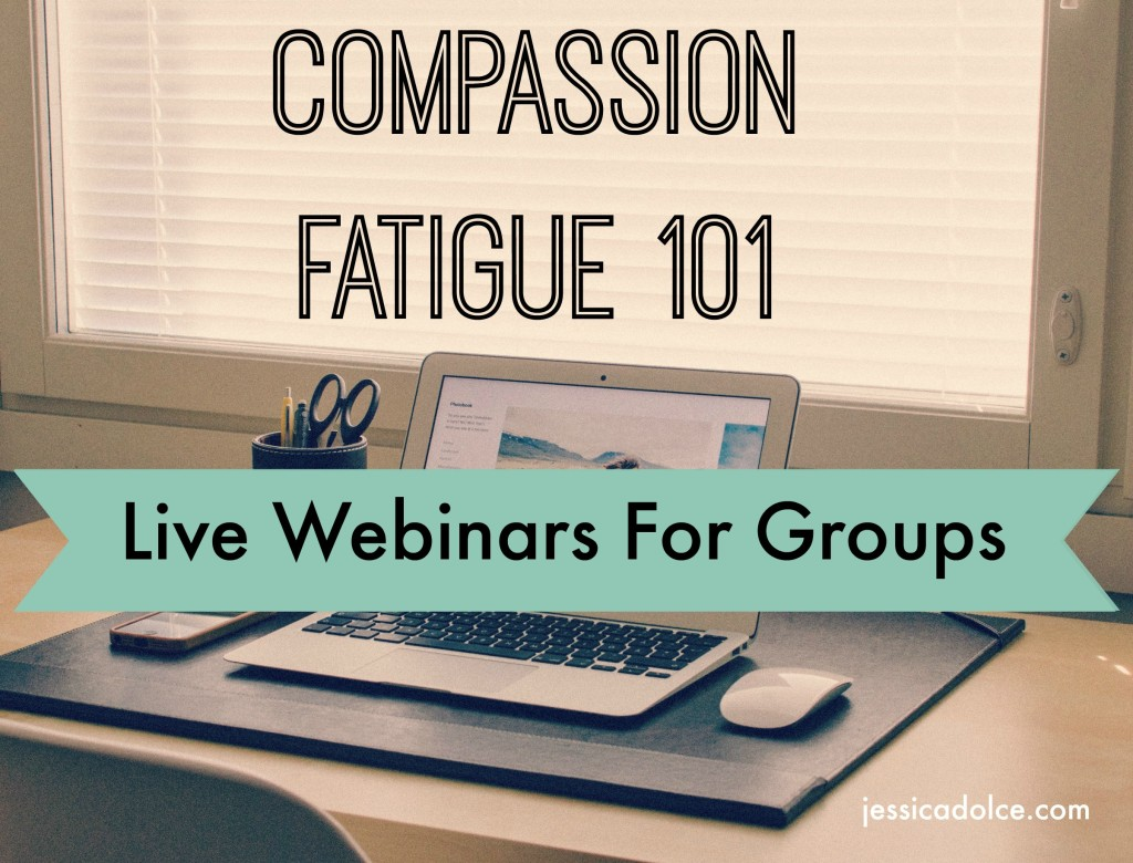 compassion fatigue webinar groups